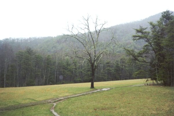 Cades Cove in Smoky Mountains
